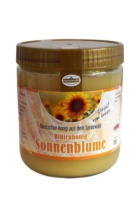 Spreewaldhonig Sonnenblume 500g