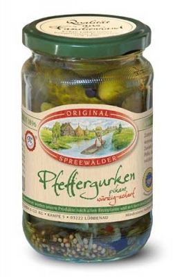 Original Spreewälder Pfeffergurken 370ml