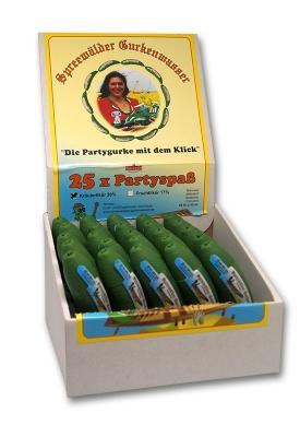 Spreewälder Gurkenwasser 25er Box - Kräuterlikör 20ml - 30% Vol