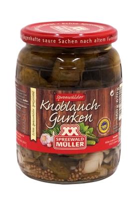Müller Kboblauchgurke 720ml