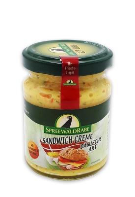 Rabe Sandwich Creme mit Meerrettich 125g