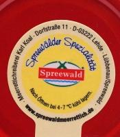 Spreewälder Meerrettich Pur RD --195 g -- Vegan