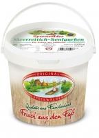Spreewälder Meerrettich Senfgurken mit Eimer 1,0 l