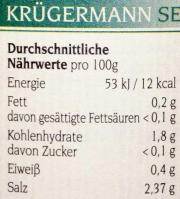 Spreewälder Sauerkraut 1,0 l Eimer