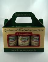 Gurken Box aus 3 verschiedenen Sorten 3 x 370ml *1