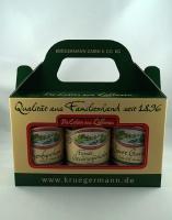 Gurken Box aus 3 verschiedenen Sorten 3 x 370ml *2