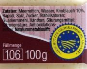 Spreewälder Meerrettich Knoblauch - 100g