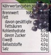 Holunderbeersaft 100% aus dem Spreewald in der ++750ml++ Flasche