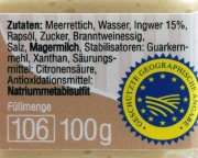 Spreewälder Meerrettich Ingwer - 100g