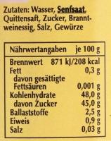 Spreewaldsenf Quitte 190ml