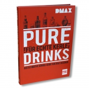 Pure Drinks - Das Buch inkl. Birnenbrand 40% 100ml