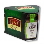 Senf GP mit Knoblauch - Apfel - Mittelfein BIO