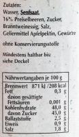 Spreewaldsenf Preiselbeere 190ml