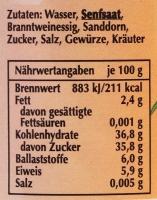 Spreewaldsenf Sanddorn 190ml