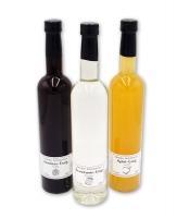 Essig Sparpaket - Himbeer-Apfel-Branntwein 3x500ml , 5-10% Säure *1