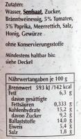 Senf GP mit Scharfe Henne - Extra Fein - Grober Heinrich *G