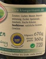 Original Spreewälder Gewürzgurken 720ml