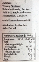 Spreewaldsenf Knoblauch 190ml