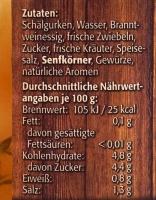 Müller Senfgurke 435ml