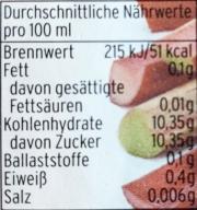 Spreewälder Rhabarber, 70%Nektar in der ++750ml++ Flasche