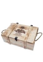 BillGin Geschenkset in einer Holzkiste
