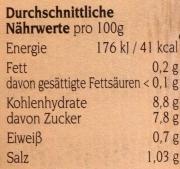 Original Spreewälder Gurkenhappen mit Honig 720ml