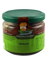 Spreewälder Rotwurst Glas - 250g